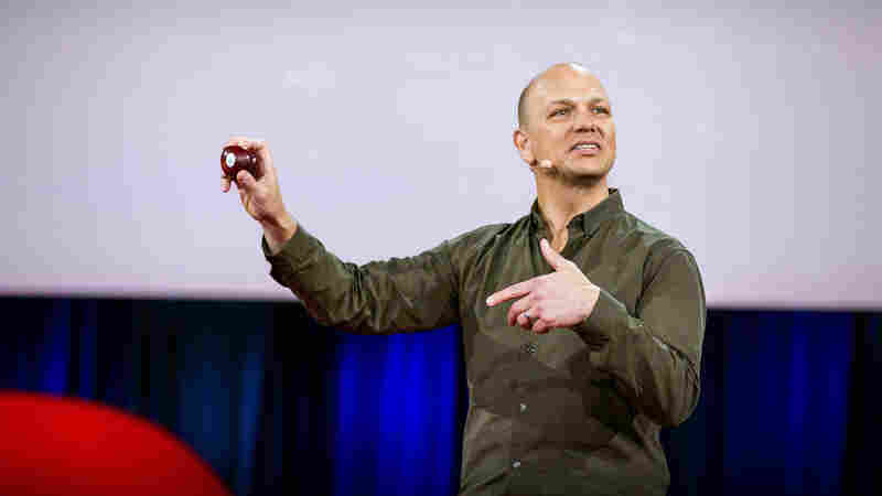 Tony Fadell speaking at TED2015.