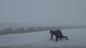 WATCH: 109-MPH Winds On Mount Washington Lift Man Off His Feet