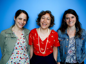 Invisibilia hosts (left to right) Alix Spiegel, Hanna Rosin and Lulu Miller.