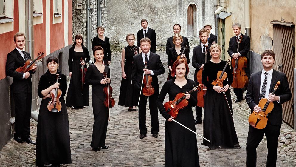 The Tallinn Chamber Orchestra's new album, Mirror, features music by Estonian composer Tõnu Kõrvits.