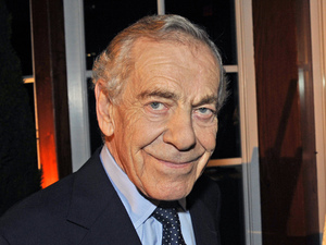Morley Safer during 60 Minutes' 40th anniversary celebration in New York.