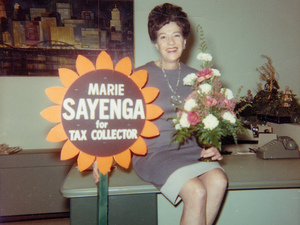 Marie Sayenga recognized a need for improvement in her local government, and decided to run for office.