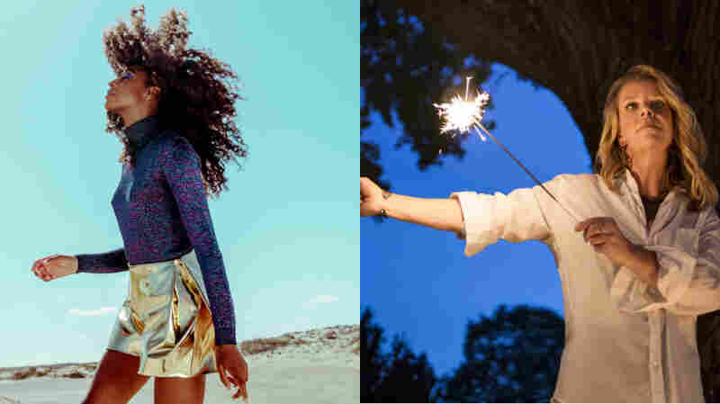 Corinne Bailey Rae (left) and Mary Chapin Carpenter.