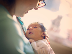 A new study finds that newborns don't imitate others.