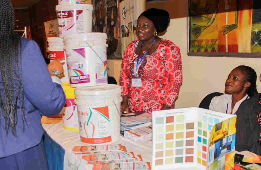 Lariat Alhassan had lots of great paint to sell but no office where she could meet clients. And then she heard an ad on the radio that seemed too good to be true.