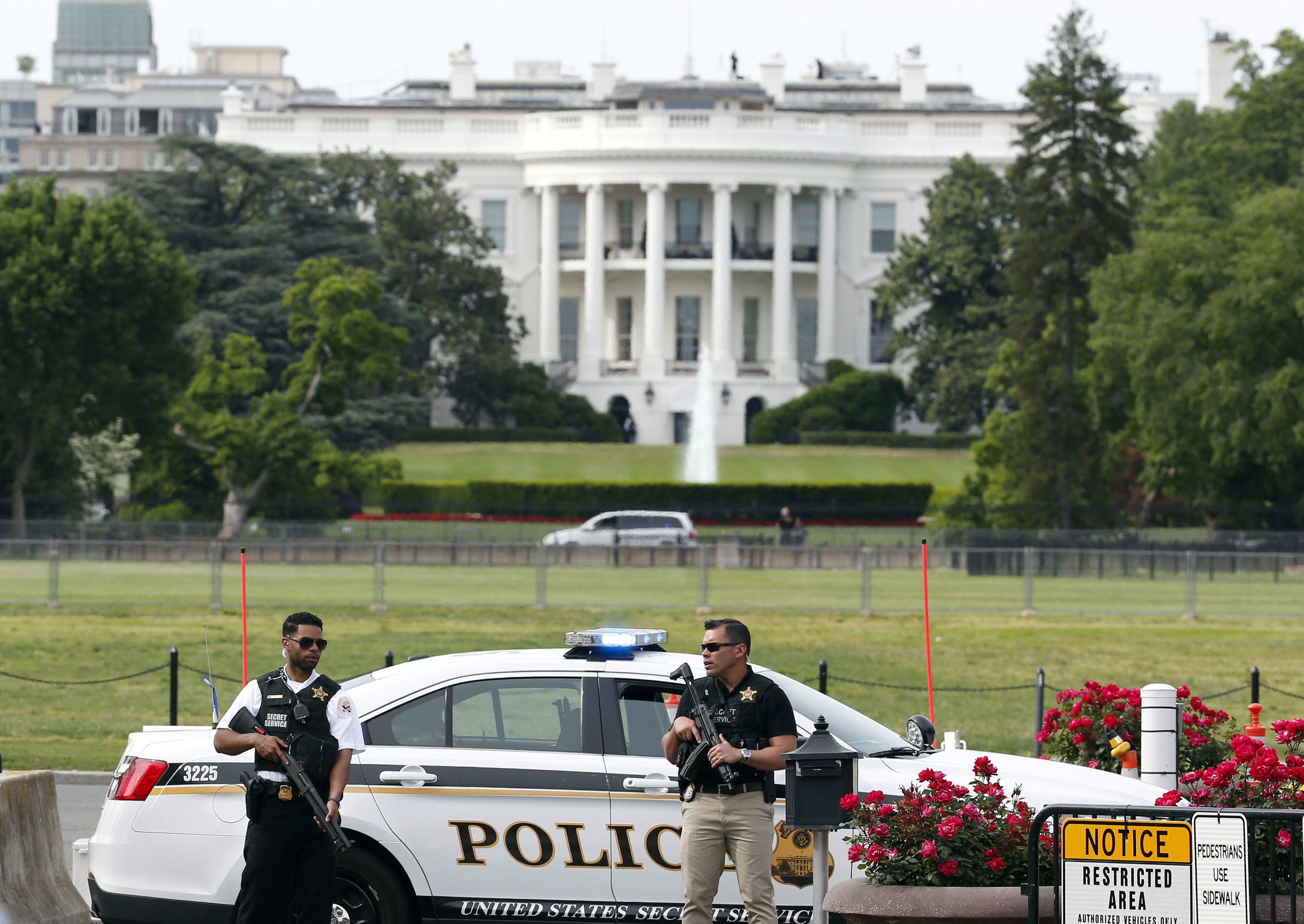 Secret Service Shoots Armed Man Near White House