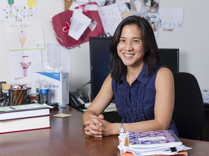 Angela Duckworth, professor at the University of Pennsylvania.