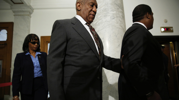 Bill Cosby arrives at the Montgomery County Courthouse for a preliminary hearing on Tuesday in Norristown, Pa. Cosby is accused of drugging and sexually assaulting a woman at his home in 2004. (AP)