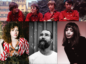 Top row: The Monkees; Bottom row, left to right: Esmé Patterson, Matt The Electrician, Adia Victoria