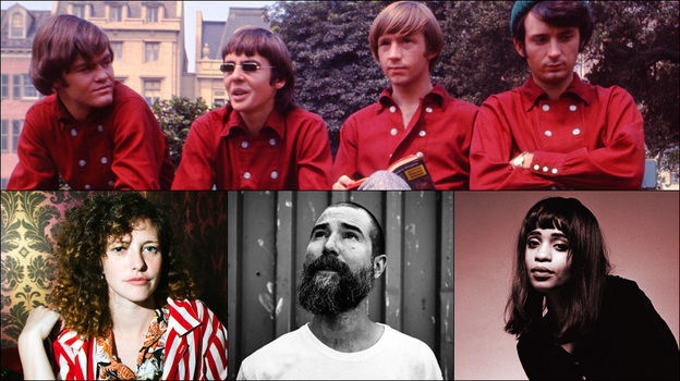 Top row: The Monkees; Bottom row, left to right: Esmé Patterson, Matt The Electrician, Adia Victoria (Courtesy of the artists)