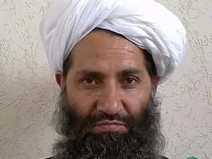 Mullah Haibatullah Akhundzada, the new leader of the Afghan Taliban, poses for a portrait at an unknown date and location.