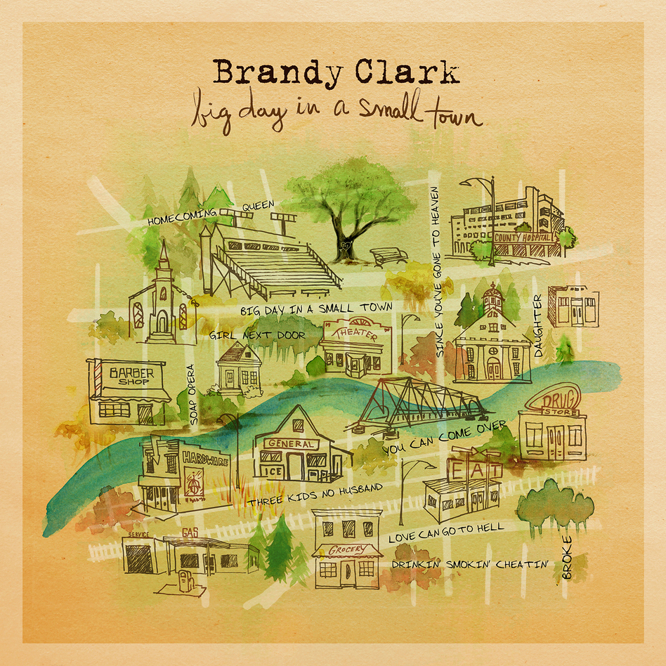 Brandy Clark, Big Day In A Small Town (Courtesy of the artist)
