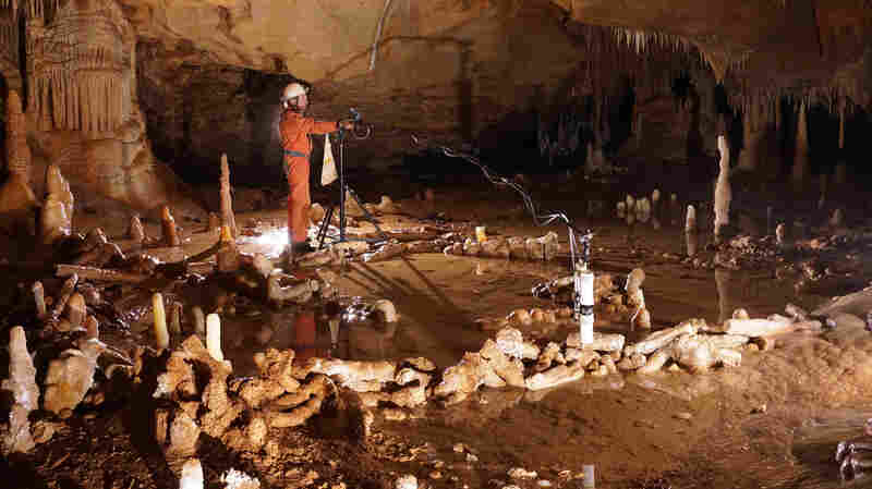 Researchers found numerous ring-like structures inside France's Bruniquel Cave. They believe they were built by Neanderthals some 176,000 years ago.