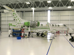 Brazlian jet maker Embraer employs about 600 people in Melbourne, Fla., and is expanding.