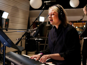 Lapsley performs live in the studio for KCRW.