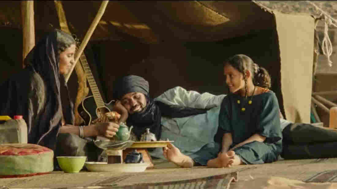 A scene from the movie Timbuktu, nominated in 2014 for an Oscar for Best Foreign Language Film.