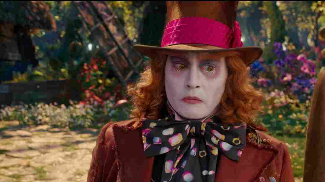Johnny Depp in Alice Through The Looking Glass.