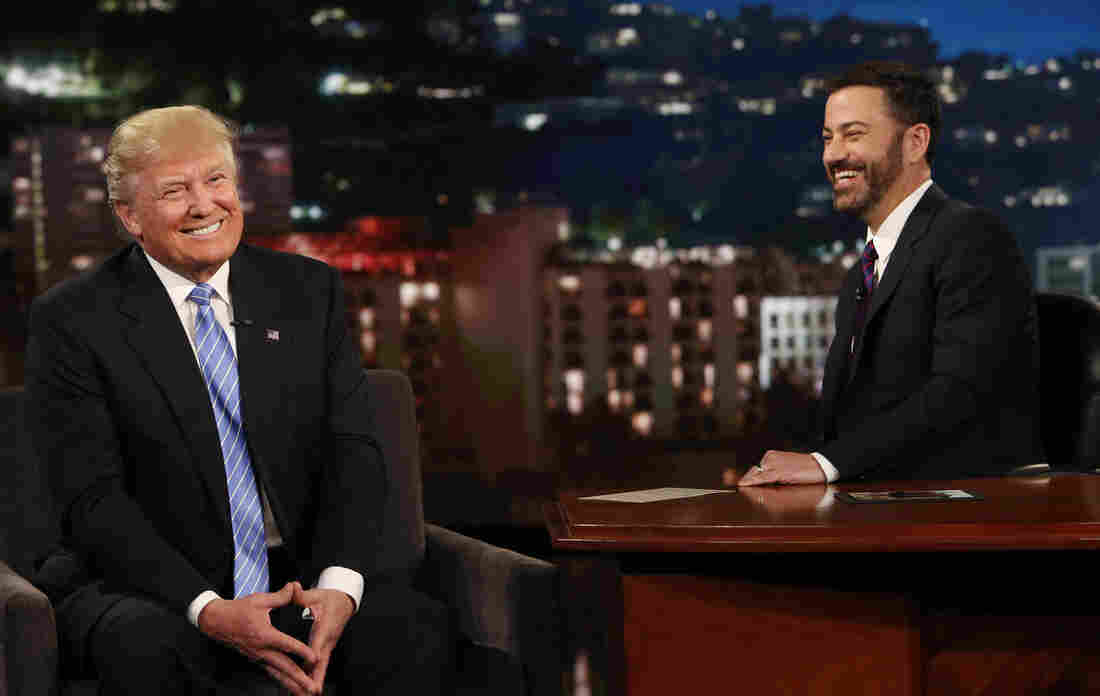 Republican presidential candidate Donald Trump was a guest on Jimmy Kimmel Live on Wednesday, May 25.