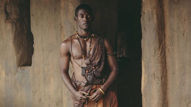 Malachi Kirby plays Kunta Kinte in the updated version of the miniseries Roots. (The History Channel)