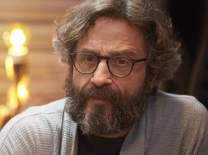 In the fourth season of the IFC show Maron, Marc Maron's character becomes addicted to opioids and loses his house, cats and podcast.