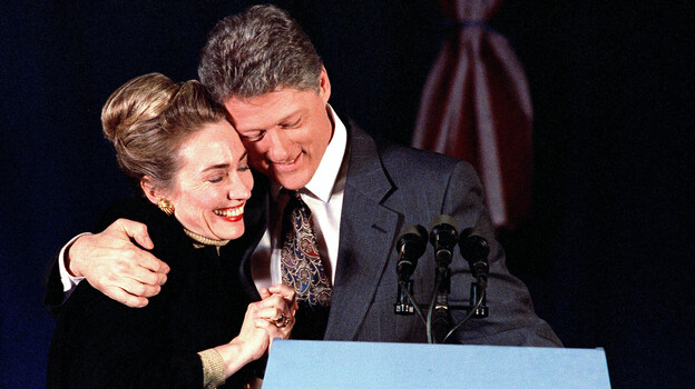 Donald Trump has been attacking Hillary Clinton for scandals of the 1990s, including her husband's infidelities. (AP)