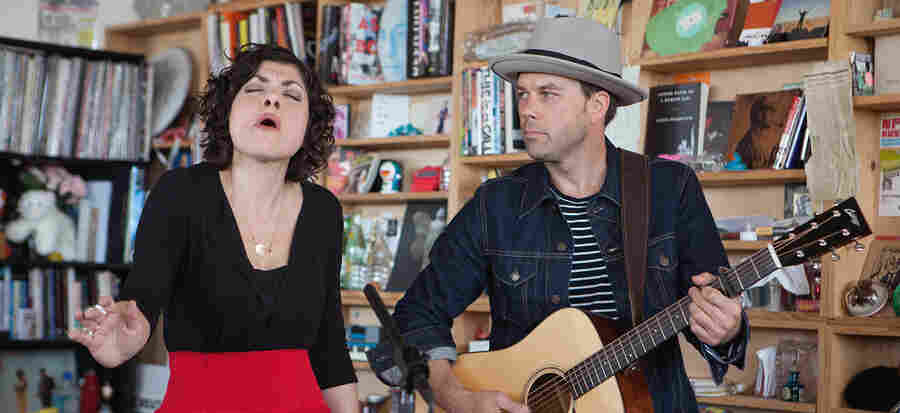 Tiny Desk Concert with Carrie Rodriguez.