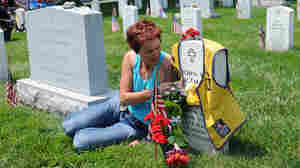 Donna Engeman, Survivor Outreach Services manager at the Installation Management Command, rode her Harley Davidson from San Antonio to Washington, D.C., to ride in Rolling Thunder Memorial Day, 2012. She rides again this year to help raise awarenes about the significance and meaning behind the Gold Star Pins.