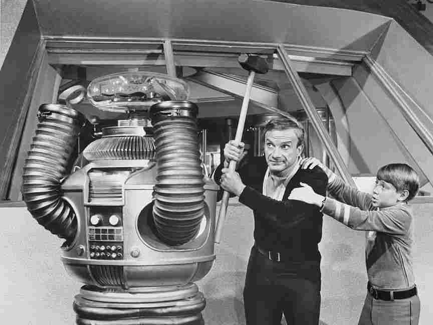 """Danger, Will Robinson!"" The danger-sensing abilities of the newly developed robot system far exceed those of the Robot in the classic TV series Lost in Space."