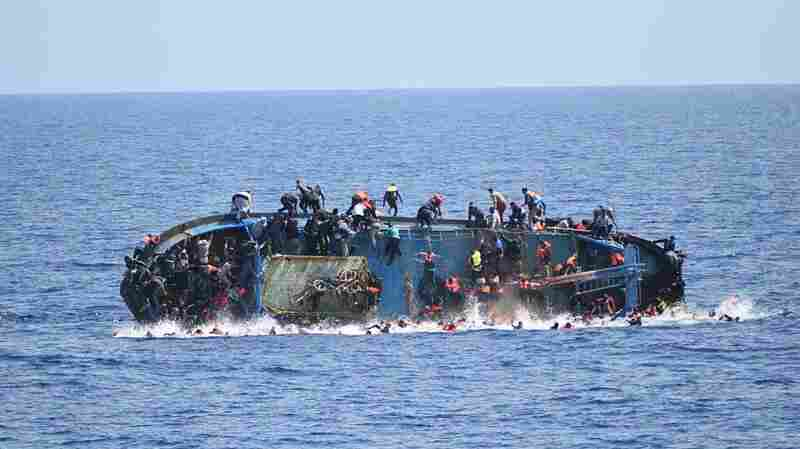 More Than 700 Migrants Feared Dead In 3 Separate Mediterranean Shipwrecks