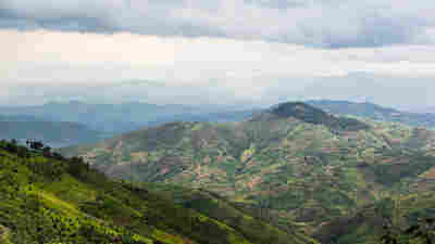 """Rwanda is known as """"le pays des milles collines"""" — the land of a thousand hills. Weather varies by altitude; for farmers, detailed forecasts can make a huge difference."""