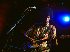 Boogarins performing at World Cafe Live in Philadelphia.
