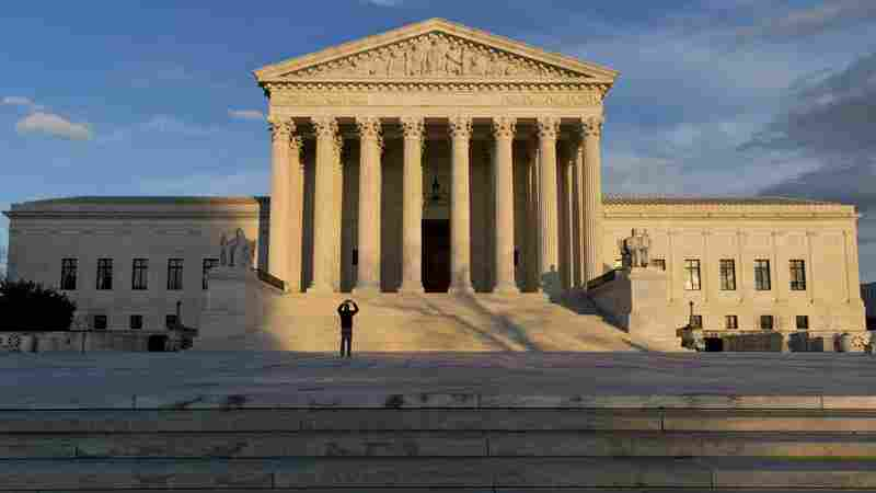 The Supreme Court building in Washington D.C.
