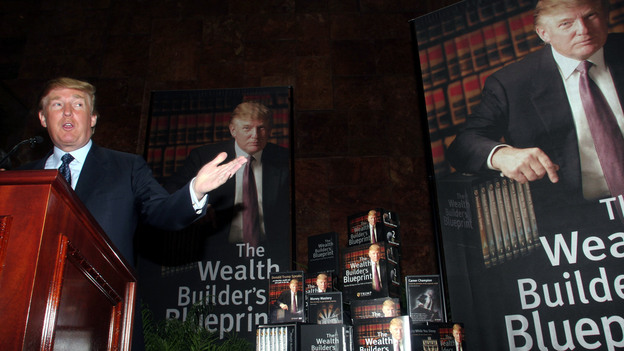 In 2005, Donald Trump announced the establishment of Trump University, a collection of online and in-person courses that promised to impart real estate investment skills. Lawsuits over the venture resulted in the release of confidential internal documents Tuesday. (Getty Images)