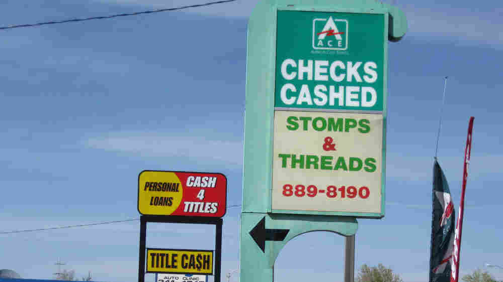 New Rules To Ban Payday Lending 'Debt Traps'