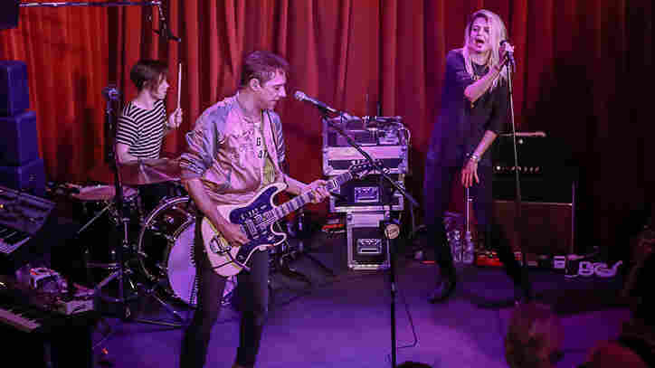 The Kills perform live for KCRW.