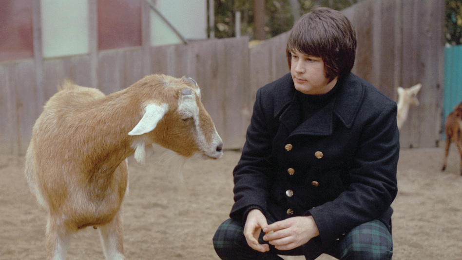 Brian Wilson and pet. (Courtesy of the artist)