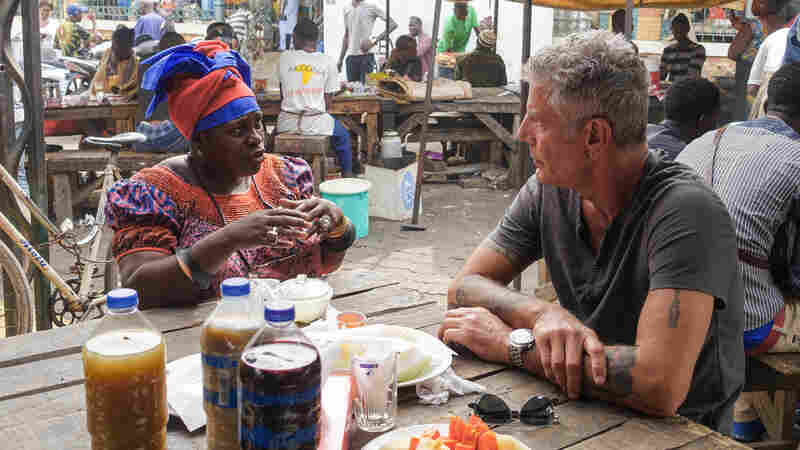Q&A: Ofeibea Quist-Arcton's Breakfast With Anthony Bourdain