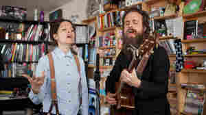 Tiny Desk Concert with Sam Beam & Jesca Hoop.