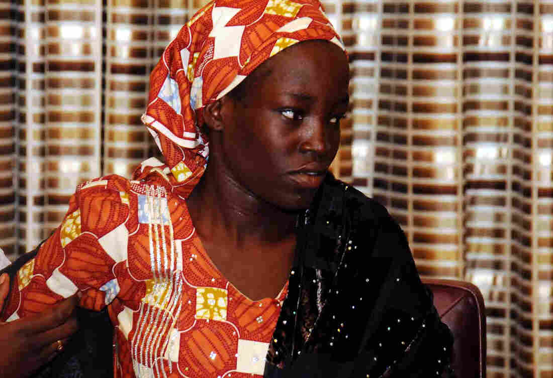Amina Ali Nkeki, 19, was one of the Nigerian school girls kidnapped by Boko Haram in 2014. She was found last month wandering in the Sambisa Forest, a Boko Haram stronghold, with her 4-month-old baby.