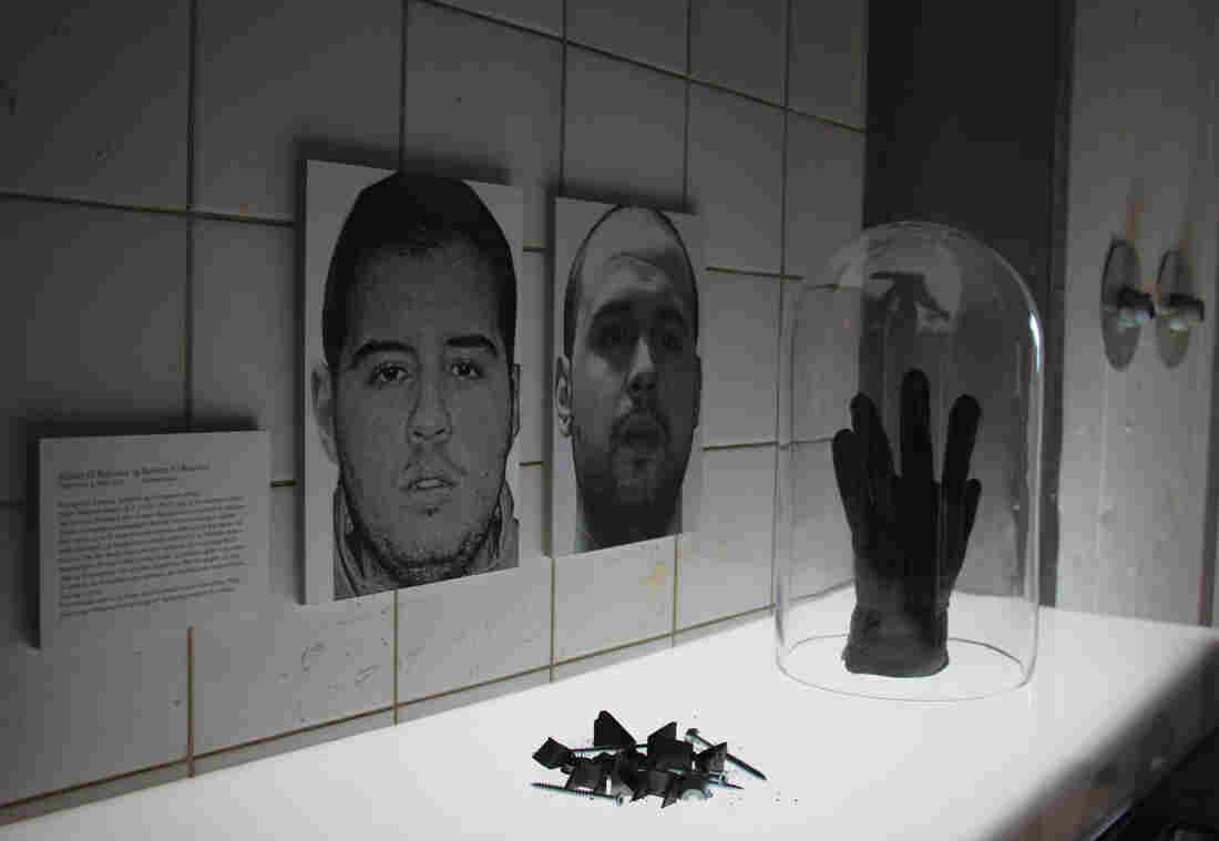 "The Martyr Museum in Denmark includes exhibits on recent terrorist attacks. There are large portraits of two brothers who carried out suicide bombing attacks in Brussels in March, Ibrahim and Khalid el-Bakraoui. There are also ""reconstructed artifacts"" like nails that were used for shrapnel in the attack."