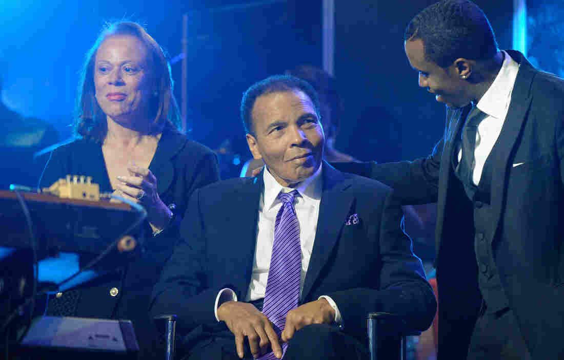 Boxing great Muhammad Ali, seen here in 2012, has been in the hospital since Thursday
