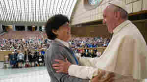 Seizing On Pope's Remarks, Women Meet In Rome To Discuss Female Priesthood