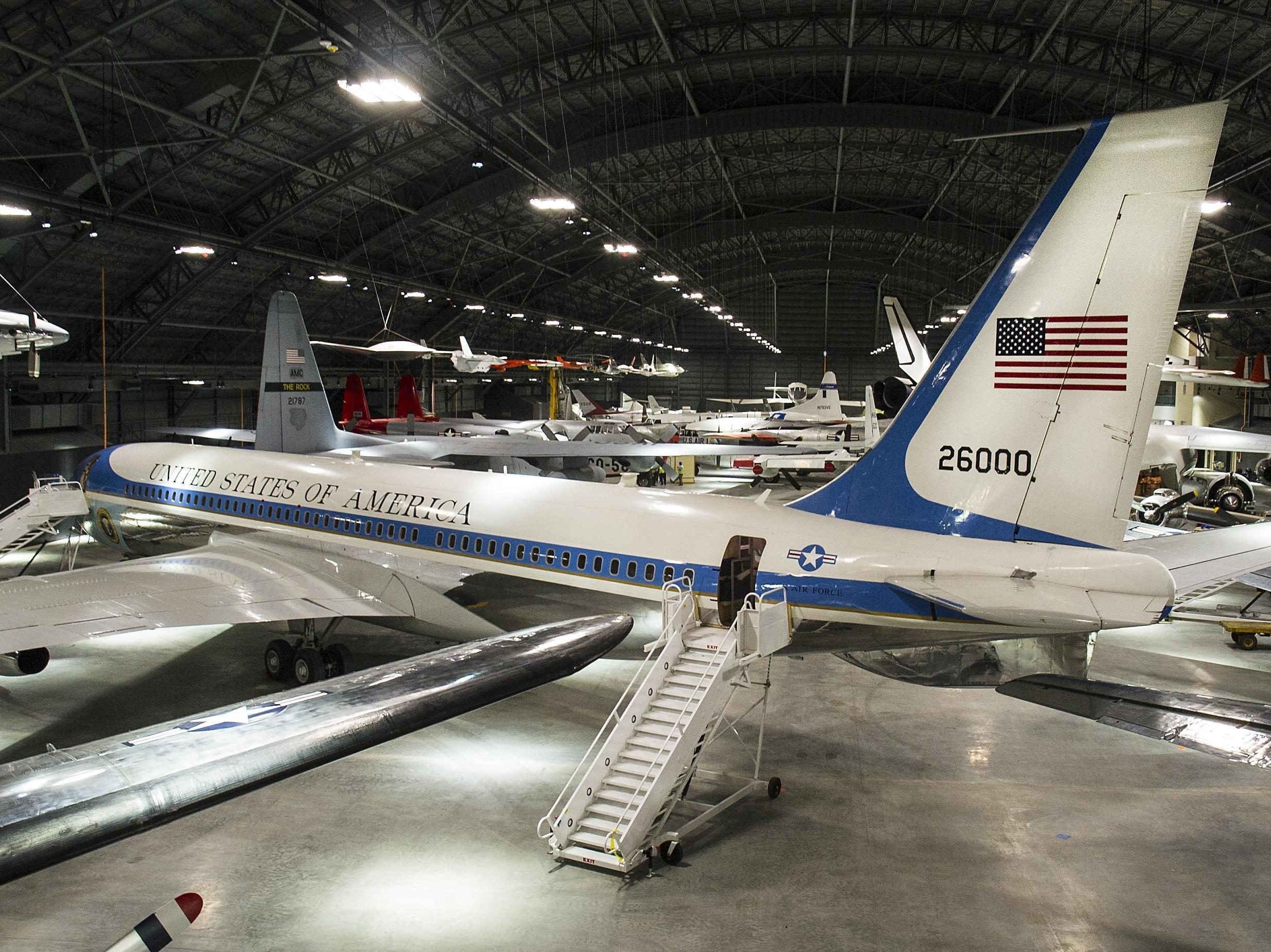 Museum Builds New Hangar To Show Off Former Air Force One Npr