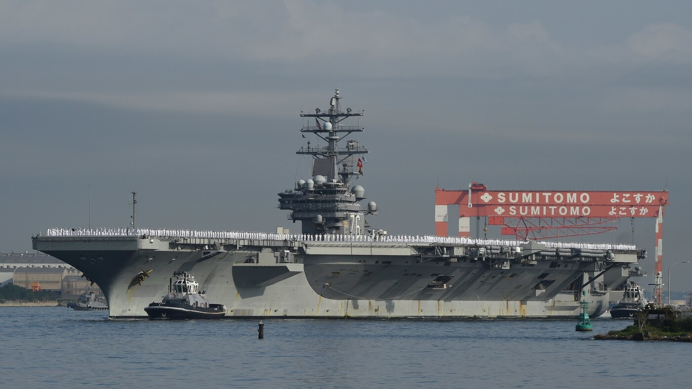 U S  Navy Bans Alcohol For All Sailors In Japan, Citing Recent