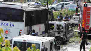 Bomb In Istanbul Targets Police Vehicle, Kills 11 People