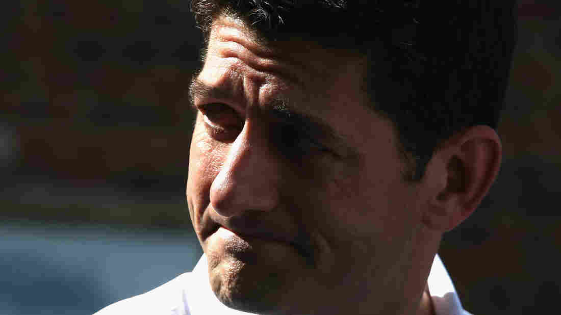 House Speaker Paul Ryan, R-Wisc., speaks during an appearance in Washington, D.C., on Tuesday.