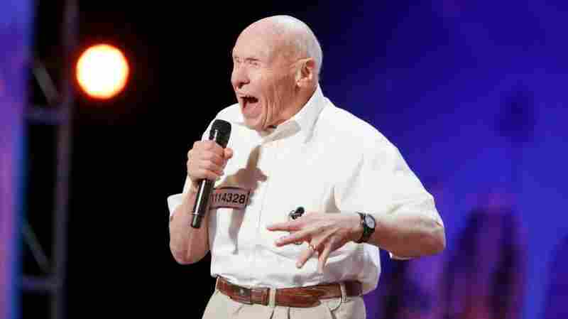 """John Hetlinger, 82, unleashed his version of the heavy metal song """"Bodies"""" on a karaoke audience two years ago. Tuesday, he rocked America's Got Talent."""
