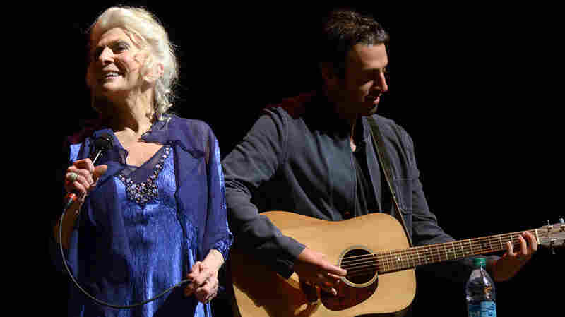 Judy Collins And Ari Hest On Mountain Stage