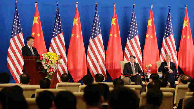 In U.S.-China Talks, The Metaphors Flow Freely