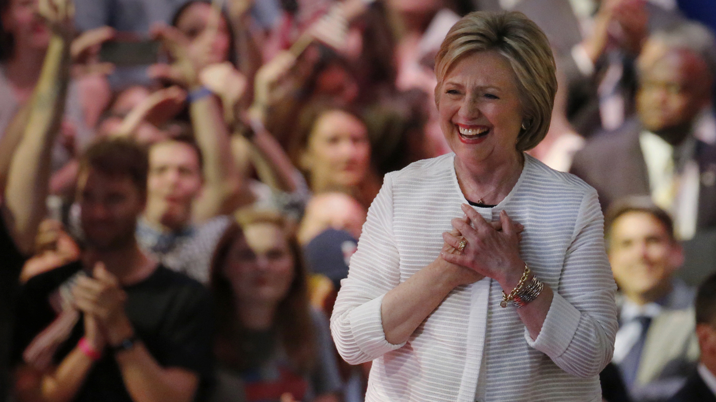 61a89b509e Clinton Marks Historic Win As Sanders Vows To Fight On.